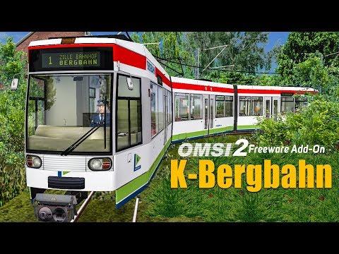 OMSI 2: K-Bergbahn - mit der Straßenbahn NF6D durch Zille im Sauerland!