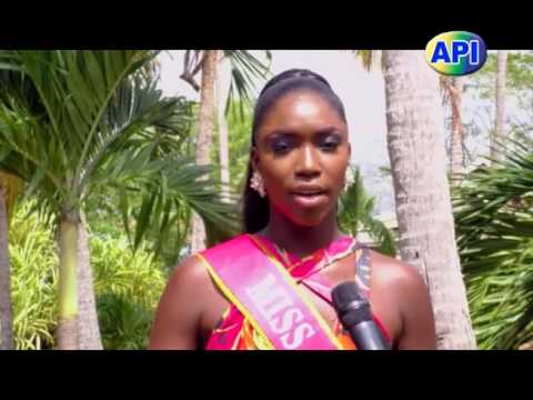 Miss SVG 2016 Contestants Meets With The Media