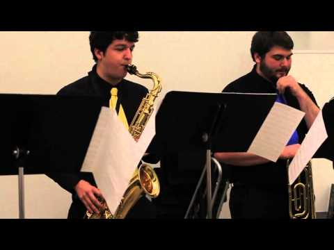 On the Real Side - Shasta College Student Jazz Combo - Cabrillo Festival 2014