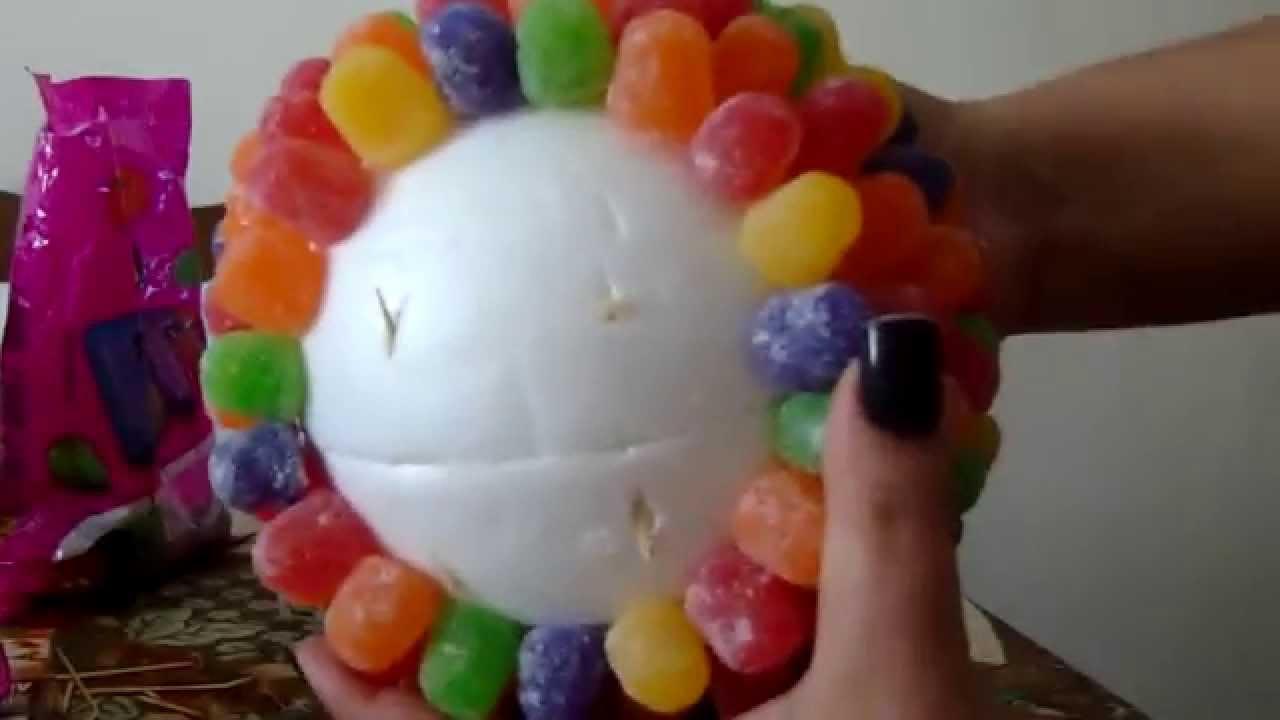 Super DIY: Enfeite com jujubas *Festa Infantil* - YouTube XQ74