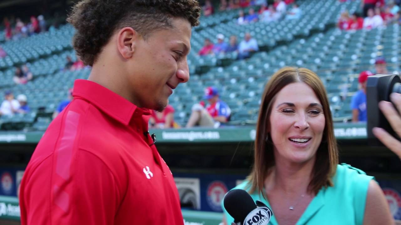Behind The Scenes Patrick Mahomes First Pitch