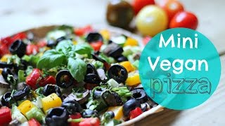 Vegan Pizza Recipe | Healthy Lunch Ideas