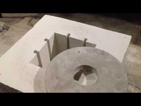 Изготовление камерной печи до 1200С часть 2