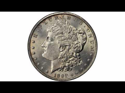 Lot 11531: 1892-S Morgan Silver Dollar. MS-62 (PCGS). OGH.