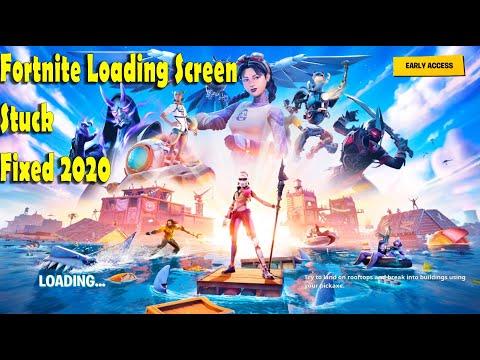 Fortnite Stuck At Loading Screen Fixed In Chapter 2 Season 3 - Loading Screen Freeze Fixed 2020