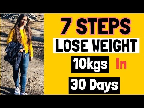 lose-weight-fast-:-7-tips-to-lose-10kgs-in-30-days-|-azra-khan-fitness