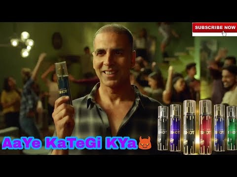 Aayee Kategi Kya!! Layer'r Shot ad by akshay kumar