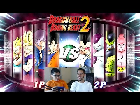 Dragon Ball Z Raging Blast 2 - Saga Enemies! (What If Battle)