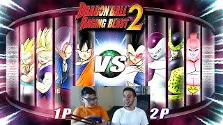 Dragon Ball Z Raging Blast 2 - Saga Enemies! (What If Battle)