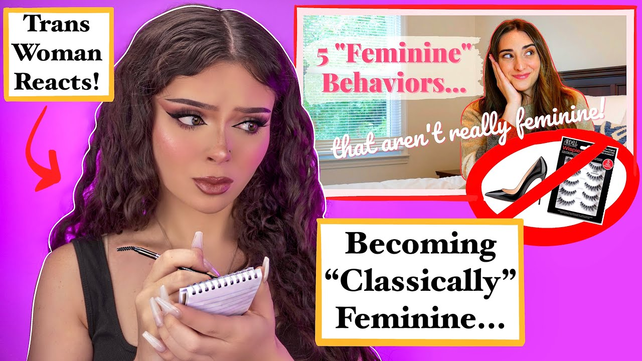 Download Trans Woman Learns TRADITIONAL Femininity From Classically Abby