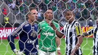 Veja troca de acusações entre  Fernando Prass e Ricardo Oliveira após clássico