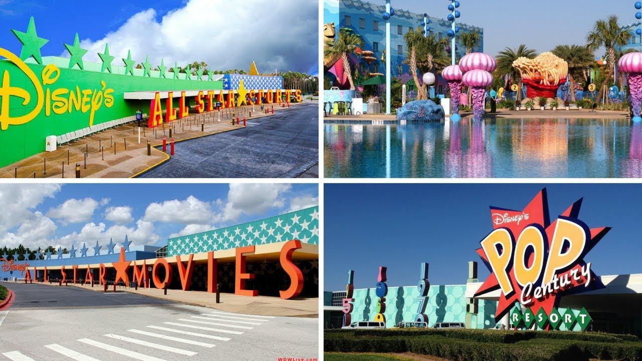 Disney World Value Resorts Overview
