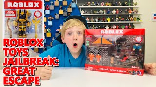 #ROBLOXTOYS JAILBREAK: THE GREAT ESCAPE Playset UNBOXING - Code item - Anubis Review - Code Giveaway