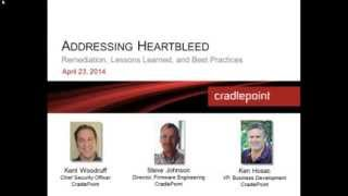 Addressing Heartbleed  Remediation, Lessons Learned, and Best Practices