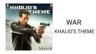 WAR - Khalid's Theme (Instrumental) | Khalid's Theme Soundtrack in WAR Movie