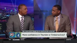 Thunder vs Timberwolves Pregame Talk | NBA Countdown