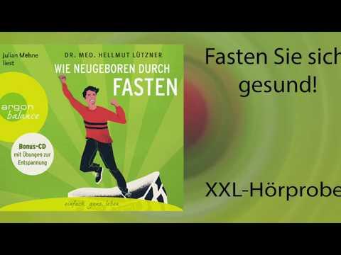 Wie neugeboren durch Fasten YouTube Hörbuch Trailer auf Deutsch