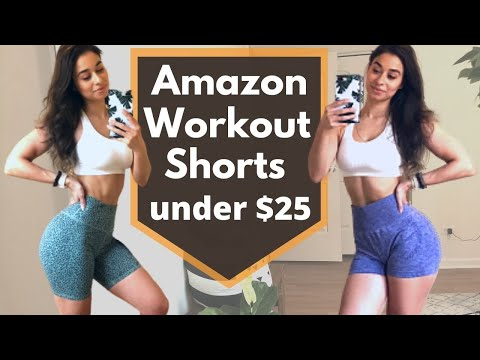 AFFORDABLE AMAZON SHORTS HAUL | Athletic Shorts Try On | Summer 2020