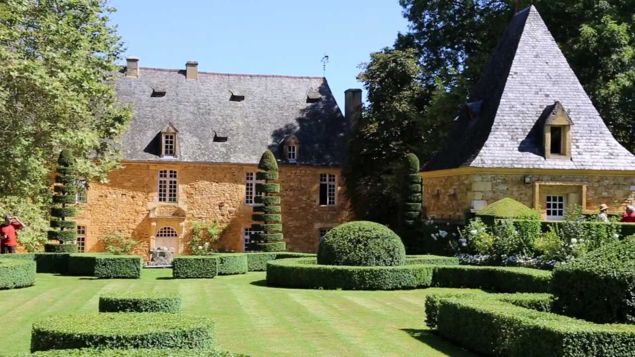Les jardins du manoir d 39 eyrignac monument historique du xvii xviii si cles youtube - Jardins du manoir d eyrignac ...