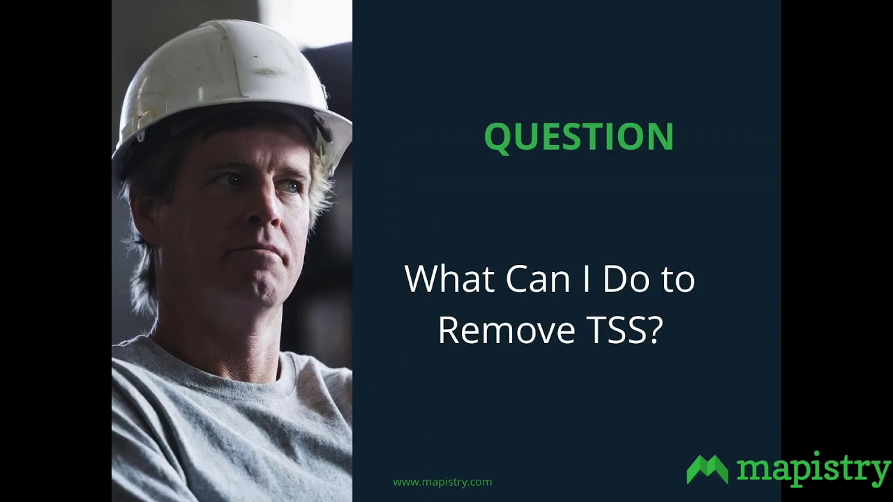 TSS Sources in Stormwater