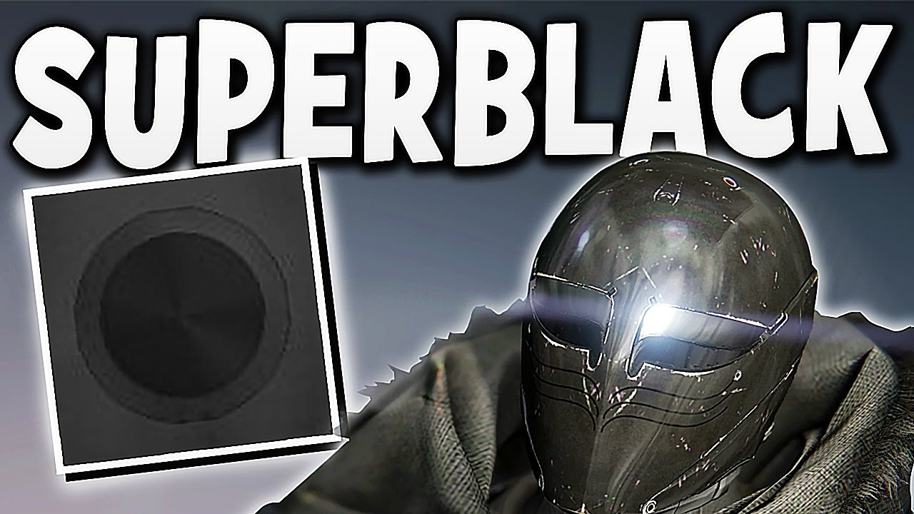 HOW TO GET THE SUPER BLACK SHADER !!!