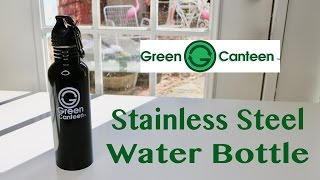 GREEN CANTEEN ❤️ 25-Ounce Stainless Steel Water Bottle ✅
