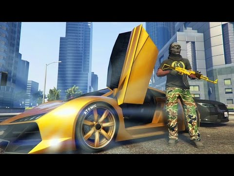 GTA 5 Online - EVERYTHING WE TOUCH IS GOLD! (GTA V Online)