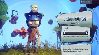Прохождение Plants vs Zombies: Garden Warfare 2 - PALEONTOLOGIST - ПАХНЕТ ЖАРЕНЫМ
