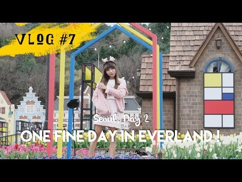 VLOG #7 - SEOUL DAY 2 : One Fine Day in Everland - YouTube
