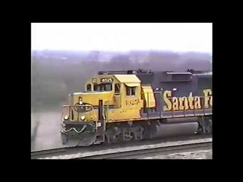 Midwest Trains of the 90s Vol-1