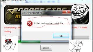 Crossfire falha download patch? Uma Maneira Fácil de Resolver. :D