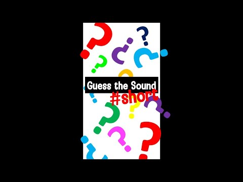 Guess the Sound #shorts