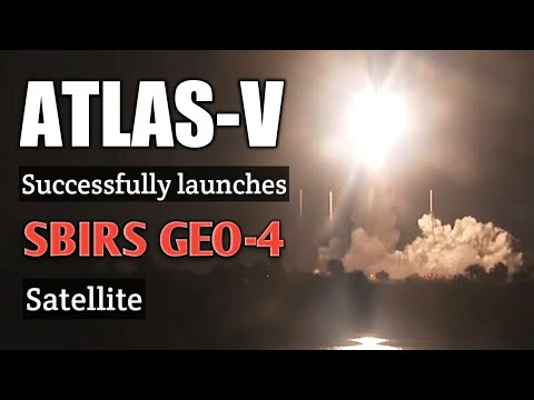 ULA | Atlas V 411 launches with SBIRS GEO-4
