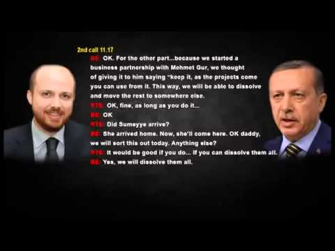 Turkish Prime Minister Recep Tayyip Erdogan caught in corruption scandal