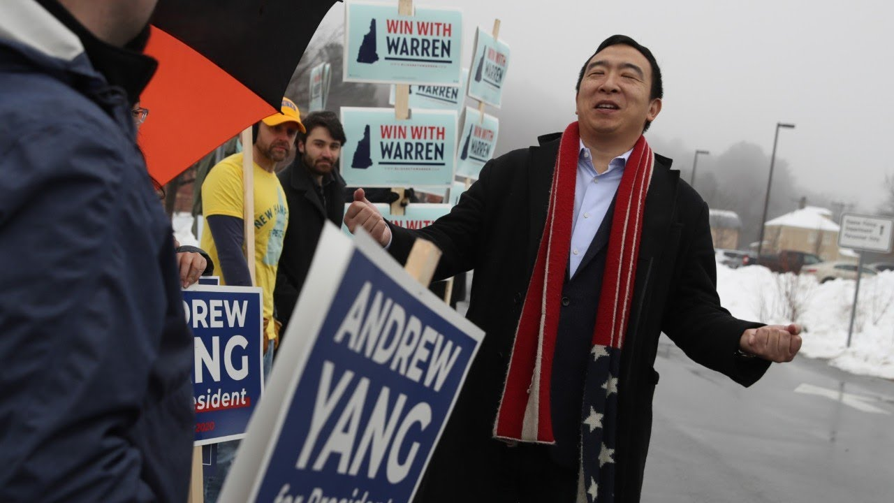 Businessman Andrew Yang ends eclectic presidential bid