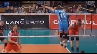 Виктор Полетаев атака/Victor Poletaev spikes