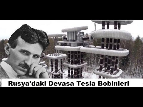 Rusya'daki Tesla Kuleleri (Tesla Bobini)