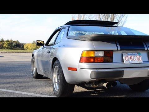 Porsche 944-The Best Handling Car In America in 1984