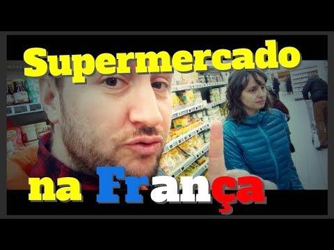 Como é o supermercado na França?