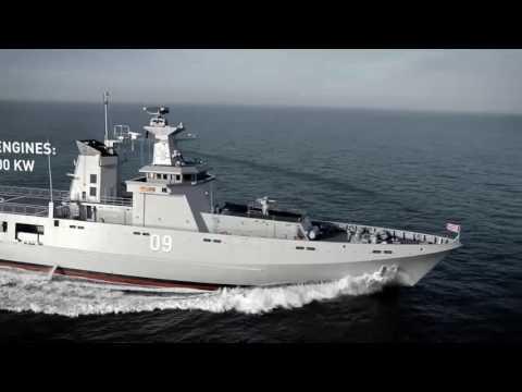 Lurssen PV 80 offshore patrol vessel