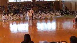 2017年2月19日 北関東型選手権大会決勝での型です。