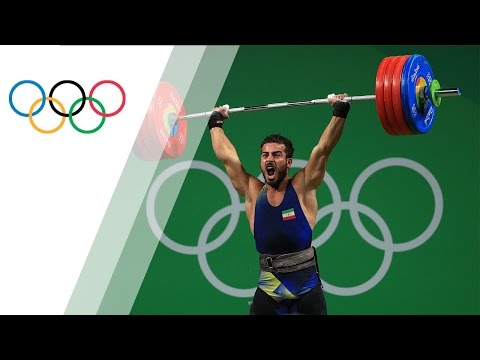 Iran's Rostami sets world record in Men's 85kg Weightlifting
