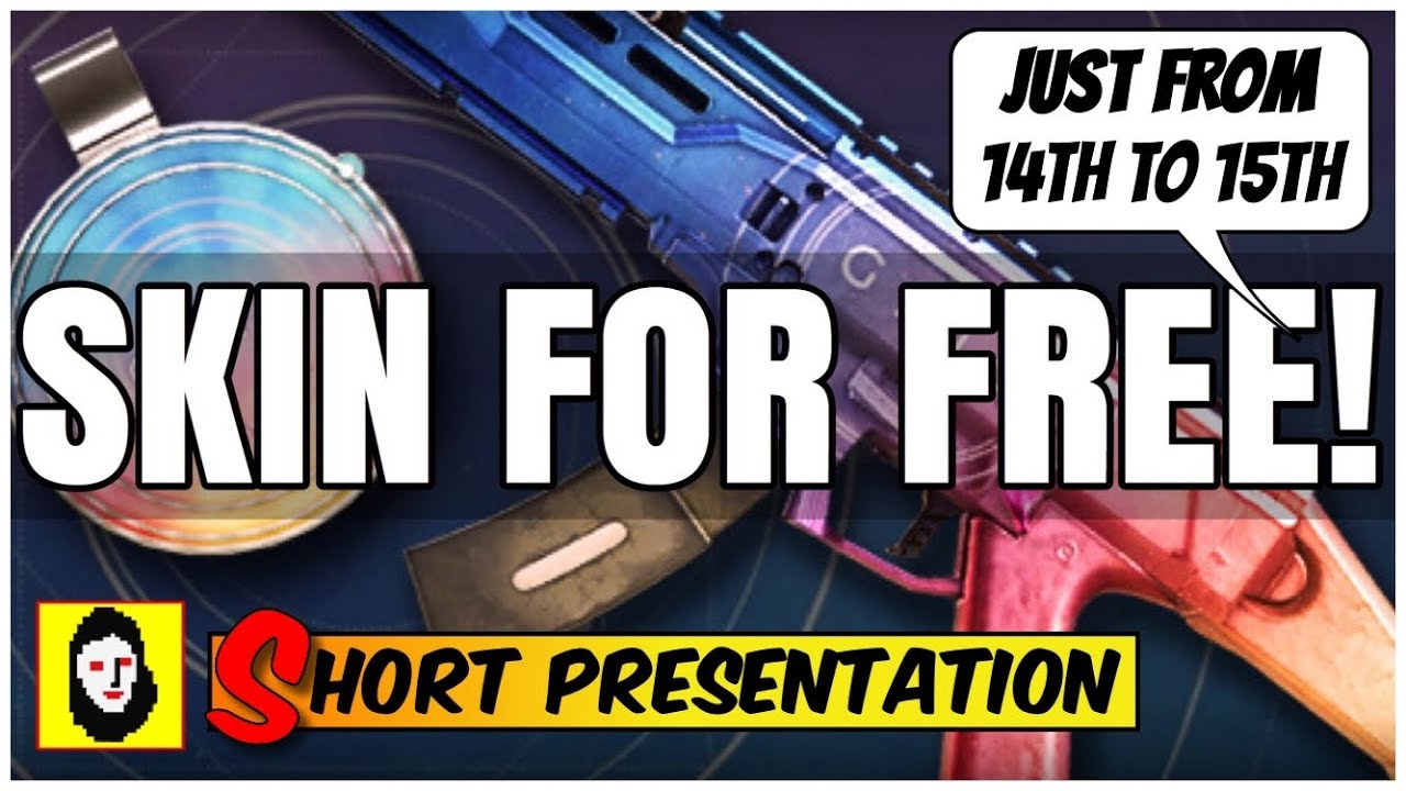 *NEW* GRIS WEAPON SKIN & CHARM FOR FREE! For Elas scorpion ...