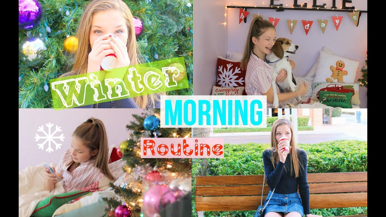 Winter Morning Routine 2015