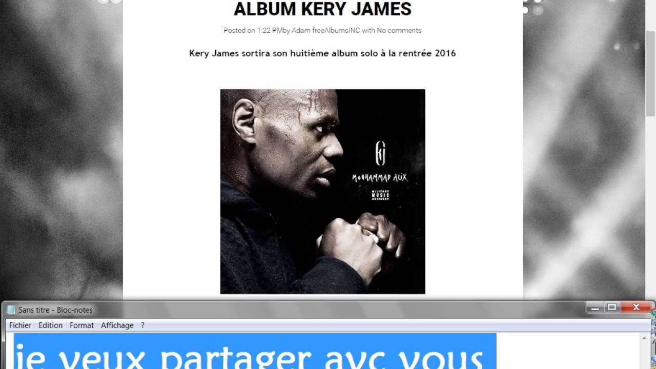 PARADOXAL TÉLÉCHARGER KERY JAMES