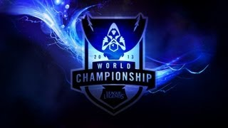 SKT vs NJS - Worlds Semifinals 2013 D1G1