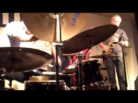 Frode Gjerstad Trio - live at DOM club, Moscow