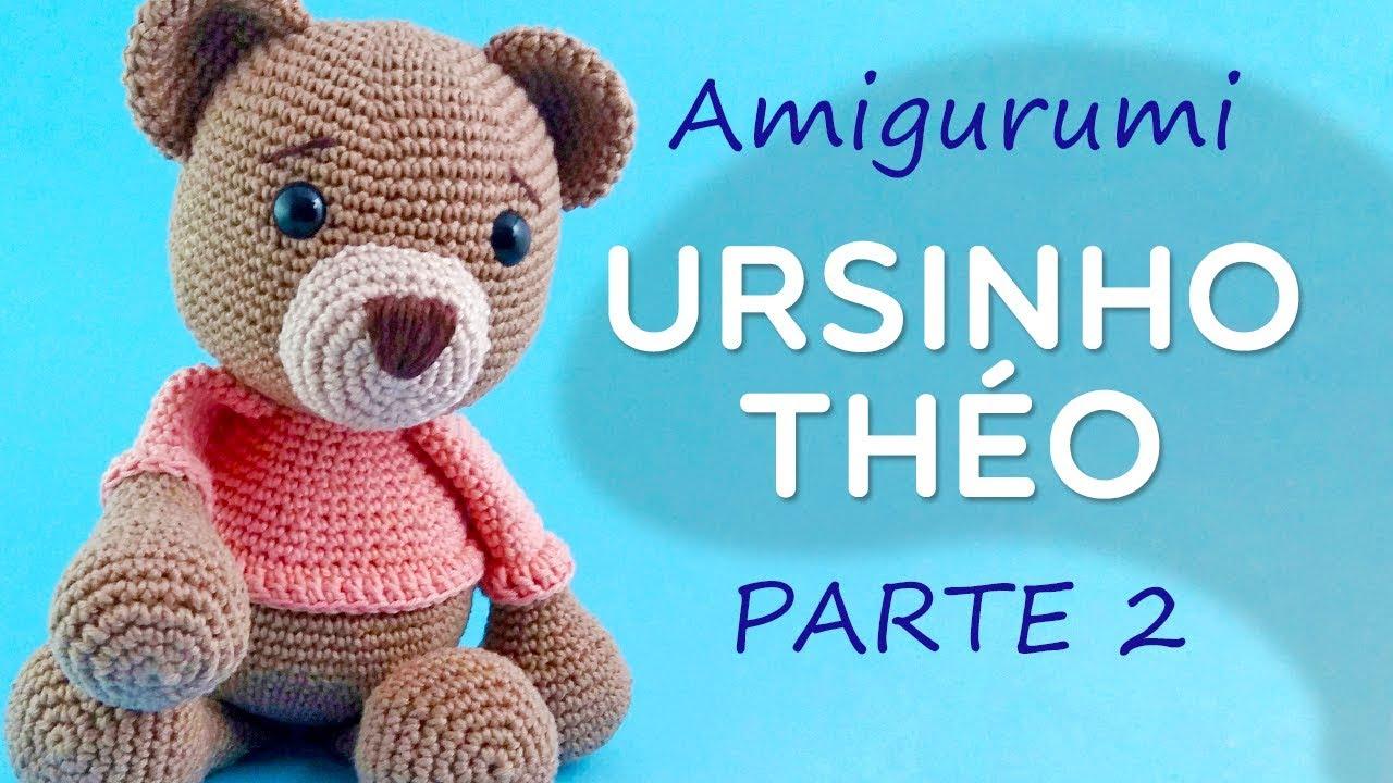 Urso crochê | Urso de crochê, Receitas amigurumi, Amigurumi passo ... | 720x1280