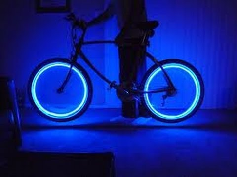 DIY-HOMEMADE BIKE LIGHT - YouTube