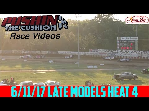 Angell Park Speedway - 6/11/17 - Late Models - Heat 4